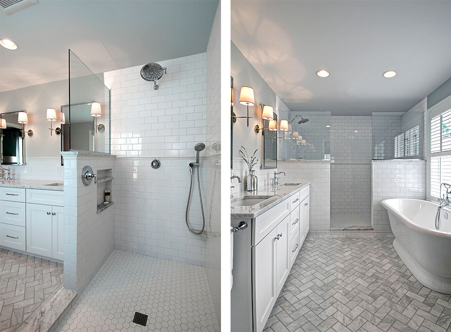 Master Bathroom Addition a bathroom addition in upper arlington | dave fox