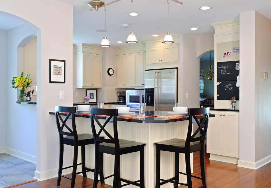 White U0026 Bright Kitchen