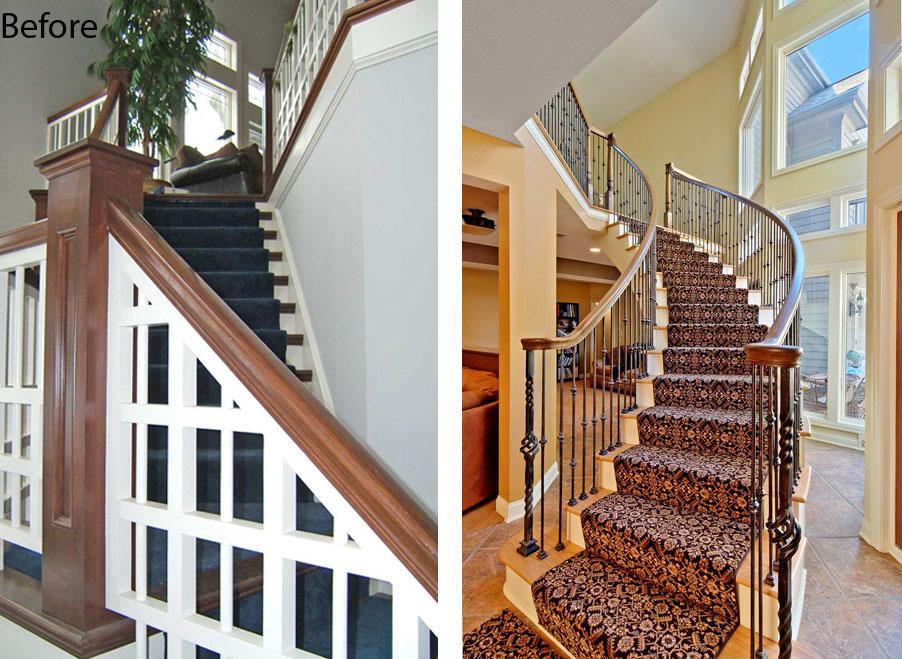 stair verticle