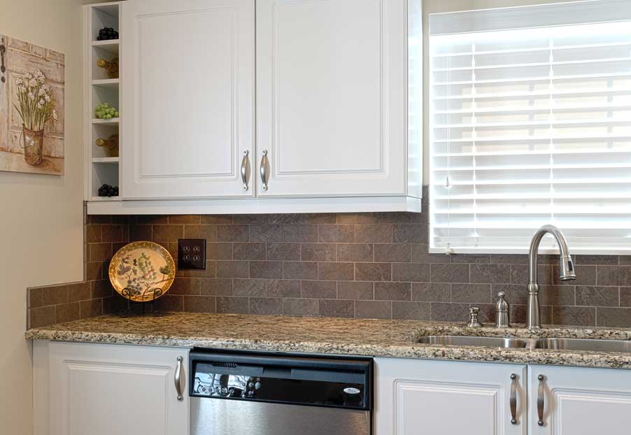A kitchen update in new albany dave fox - Kitchen cabinet updates on a budget ...