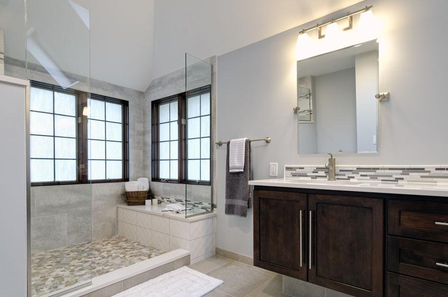 A beautiful master bath in dublin dave fox for Master bathroom designs 2012