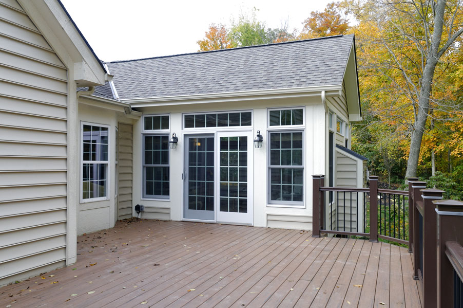 A sunroom addition in powell dave fox for How to build a sunroom addition