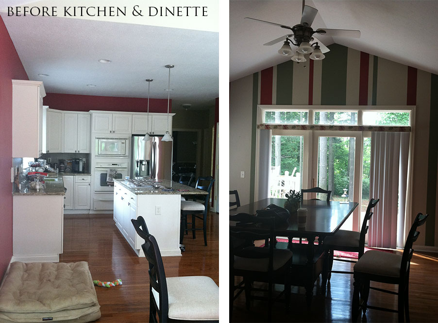 Before Kitchen & Dinette