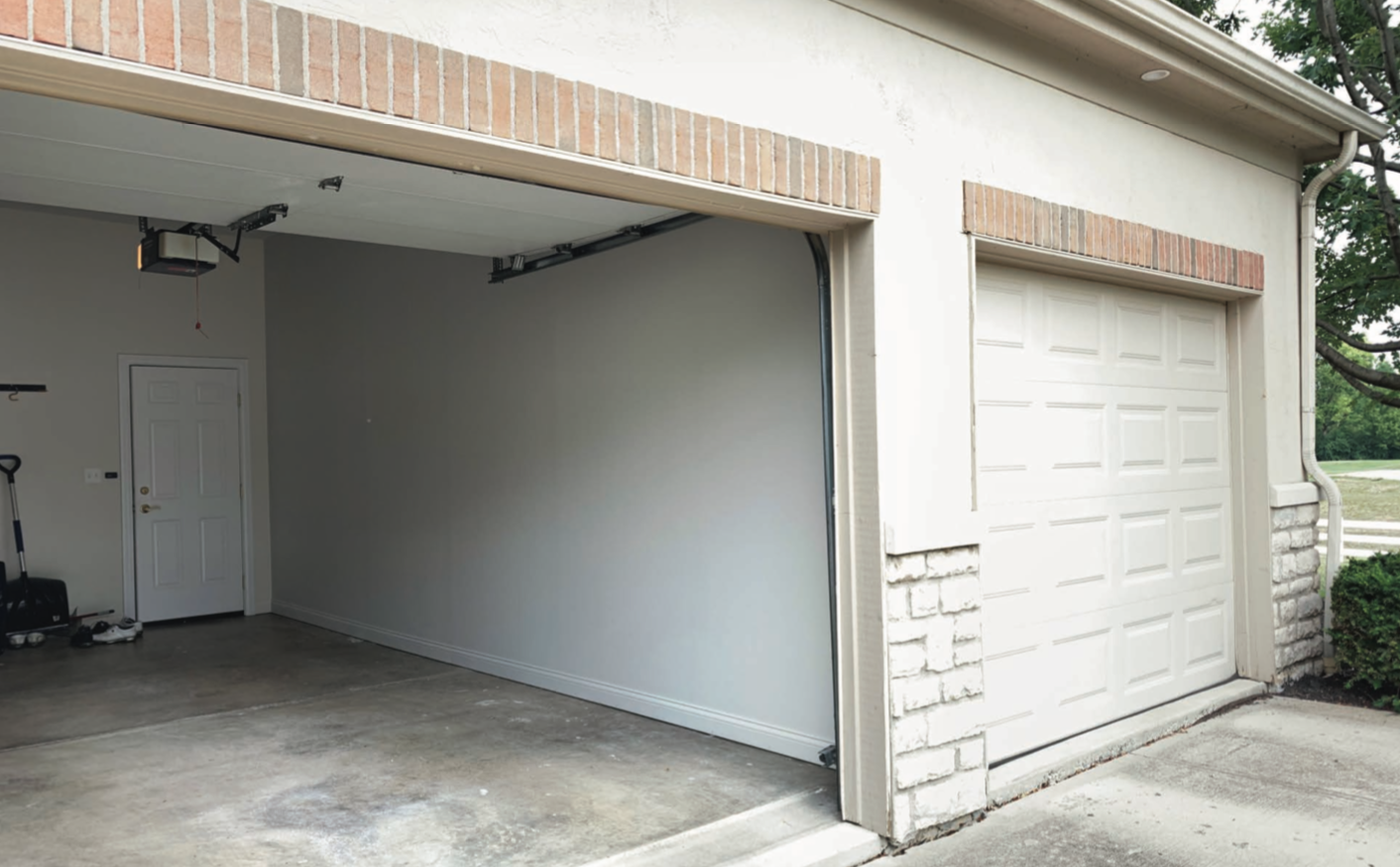 How We Turned A 3 Car Garage Into A Home Golf Simulator Room Garage Remodeling In Columbus Ohio Dave Fox