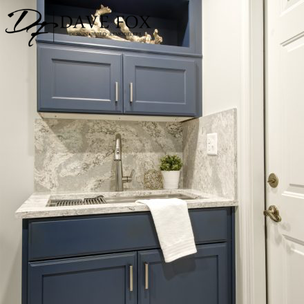 laundry room remodeling - sink