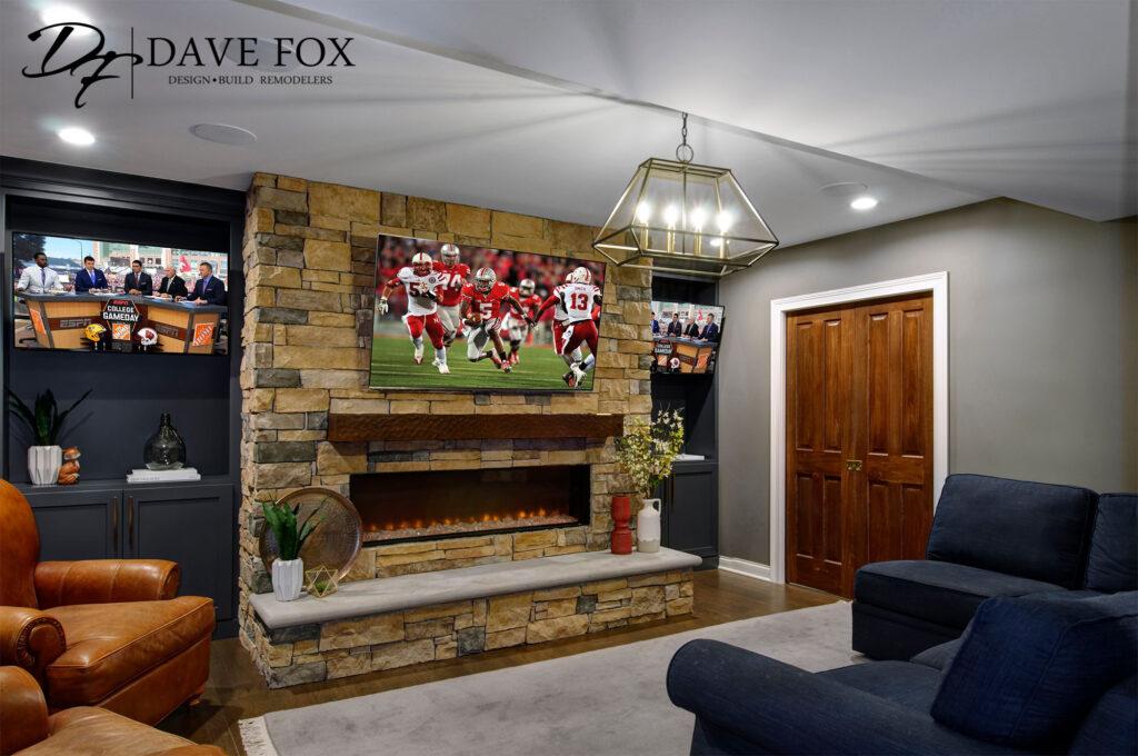 Fireplace Dave Fox